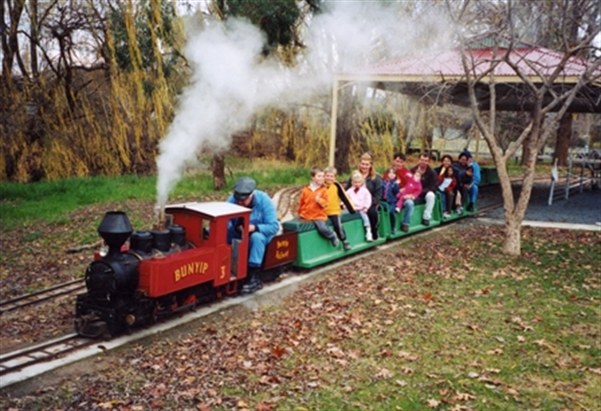 Holbrook Miniature Railway Greater Hume Council